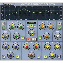 Sonnox Oxford EQ (HD-HDX) Software Download (1029-26)