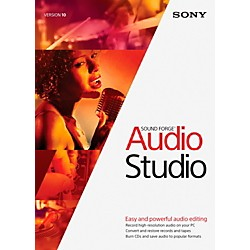 Sony Sound Forge Audio Studio 10 (1118-16)