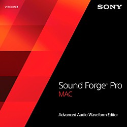 Sony Sound Forge Pro Mac 2 (1118-9)