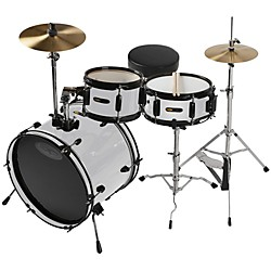 Sound Percussion Deluxe Jr. 3-Piece Drum Set (SPJR300WH)