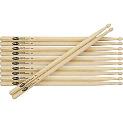 Sound Percussion Sound Percussion Hickory Drumsticks 6-Pack (SP-6-Pack)