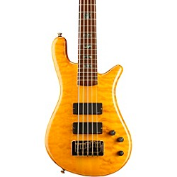 Spector NS-5XL USA 5-String Bass (NS-5XL GOLDEN STAIN)