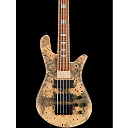 Spector USA NS-5H2-EX Buckeye Burl Top 5-String Bass Guitar (NS-5H2-EX buck)