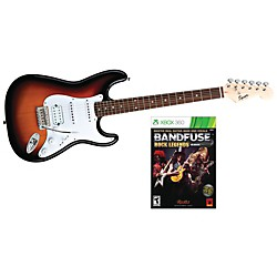 Squier Bullet HSS with BandFuse: Rock Legends (SQBBSB-XB360)