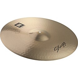 Stagg DH Dual-Hammered Brilliant Rock Ride Cymbal (DH-RR21B)