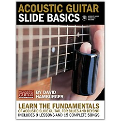 String Letter Publishing Acoustic Guitar Slide Basics Book (695610)