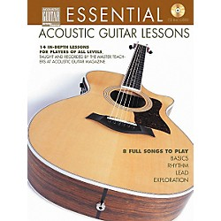 String Letter Publishing Essential Acoustic Guitar Lessons (Book/CD) (695802)