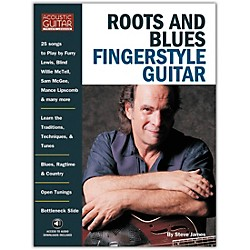String Letter Publishing Roots and Blues Fingerstyle Guitar (Book/CD) (699214)