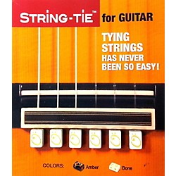 String-tie in Pearl White (TSTW)