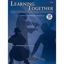 Summy-Birchard Learning Together for Violin (Book/CD) (00-34508)