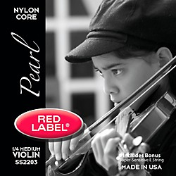 Super Sensitive Red Label Pearl Nylon Core Violin String Set (2203)