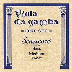 Super Sensitive Sensicore Bass Viola de Gamba Strings (4607)