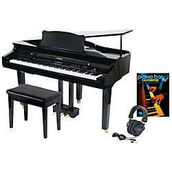 Suzuki S-350 Mini Grand Digital Piano Package (SUZUK350MGPA)