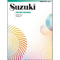 Suzuki Suzuki Guitar School Guitar Part Volume 2 (00-0390)