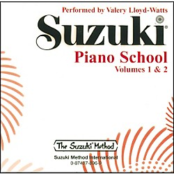 Suzuki Suzuki Piano School CD Volume 1 & 2 (00-0896)