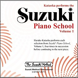 Suzuki Suzuki Piano School CD Volume 1 (00-0497)