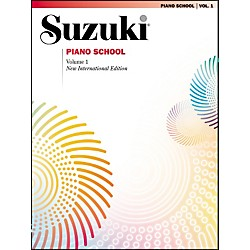 Suzuki Suzuki Piano School New International Edition Piano Book Volume 1 (00-0473SX)