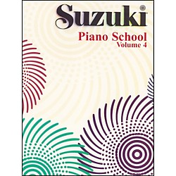 Suzuki Suzuki Piano School Piano Book Volume 4 (00-0163S)
