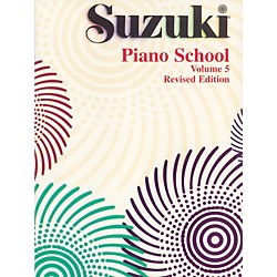 Suzuki Suzuki Piano School Piano Book Volume 5 (00-0442S)