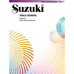 Suzuki Suzuki Viola School Piano Acc. Volume 9 Book (00-38939)