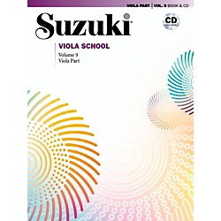 Suzuki Suzuki Viola School Viola Part Book & CD Volume 9 (00-42298)
