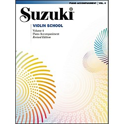 Suzuki Suzuki Violin School Piano Acc. Volume 4 (00-32089)