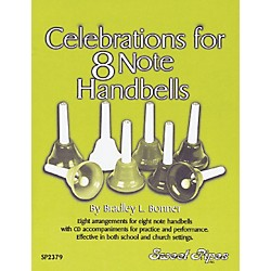 Sweet Pipes Celebrations for 8 Note Handbells (Book/CD) (SP2379)