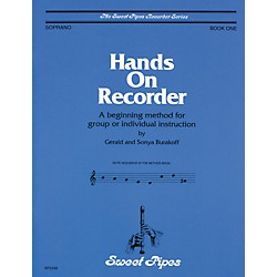 Sweet Pipes Hands-On Recorder Book (SP2358)