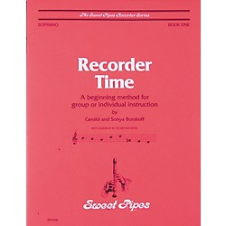 Sweet Pipes Recorder Time Book 1 (SP2308)