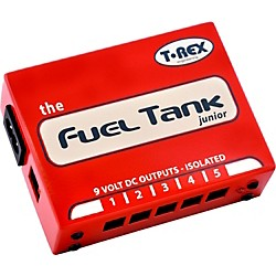 T-Rex Engineering 9V Fuel Tank Junior Guitar Effects Pedal Power Supply (TRFuelJunior)