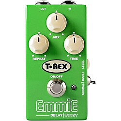 T-Rex Engineering Emmie Delay with Boost Guitar Effects Pedal (EMMIE)