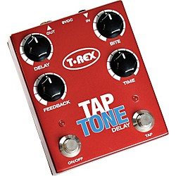 T-Rex Engineering Tap Tone Delay Guitar Effects Pedal (USED004000 TAP TONE)