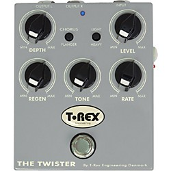 T-Rex Engineering The Twister Chorus/Flanger Guitar Effects Pedal (USED004000 TRTwister)