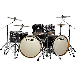 TAMA Silverstar Double Bass Drum 7-Piece Shell Pack With Double Tom Stand (VL72ZBDTBF Kit)