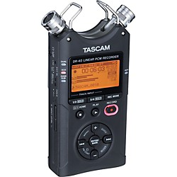 TASCAM DR-40 Portable Digital Recorder (DR-40)