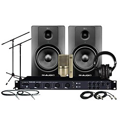 TASCAM US-1200 BX8 MXL Package (US1200 BX8 MXL Package)