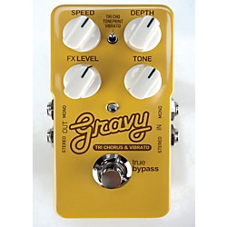 TC Electronic Gravy Tri-Chorus and Vibrato Guitar Effects Pedal (USED004000 960770001)