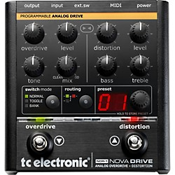TC Electronic NDR-1 Nova Drive Overdrive and Distortion Guitar Effects Pedal (960640011 RESTOCK)