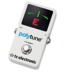 TC Electronic Polytune 2 Pedal Tuner (966120001)