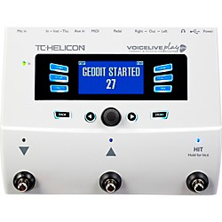 TC Helicon VoiceLive Play GTX Guitar/Vocal Harmony and Effects Pedal (USED004000 996357011)
