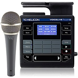 TC Helicon VoiceLive Touch 2 with Cobalt CO9 Mic Bundle (VoiceLiveTouch2 Cobalt9 M)