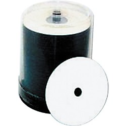 Taiyo Yuden 4.7GB DVD+R, 16X, White Inkjet-Printable and Hub Printable, 100 Disc Spindle (DVD+WPP600SK16)