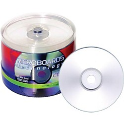 Taiyo Yuden 80 Minute/700 MB CD-R, 52X, Silver Inkjet Printable, 100 Disc Spindle (CDR80SPY100SBZM)