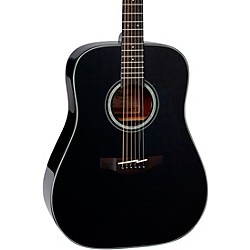 Takamine G Series Dreadnought Solid Top Acoustic Guitar (GD30-BLK)