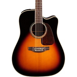 Takamine G Series GD71CE Dreadnought Cutaway Acoustic-Electric Guitar (GD71CE-BSB)