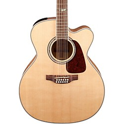 Takamine GJ72CE-12 G Series Jumbo Cutaway 12-String Acoustic-Electric Guitar (GJ72CE-12NAT)