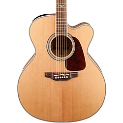 Takamine GJ72CE G Series Jumbo Cutaway Acoustic-Electric Guitar (GJ72CE-NAT)