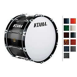 Tama Marching Bubinga/ Birch Bass Drum (B2214BLISF)