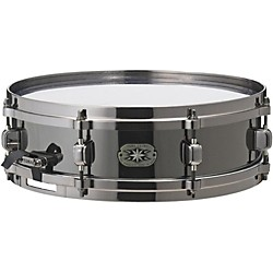 Tama Metalworks MT1455DBN Snare with Evans Black Chrome Head (MT1440DBN)