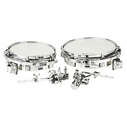 Taye Drums Wood Timbale Set with Mount (WSTF1210-CH)